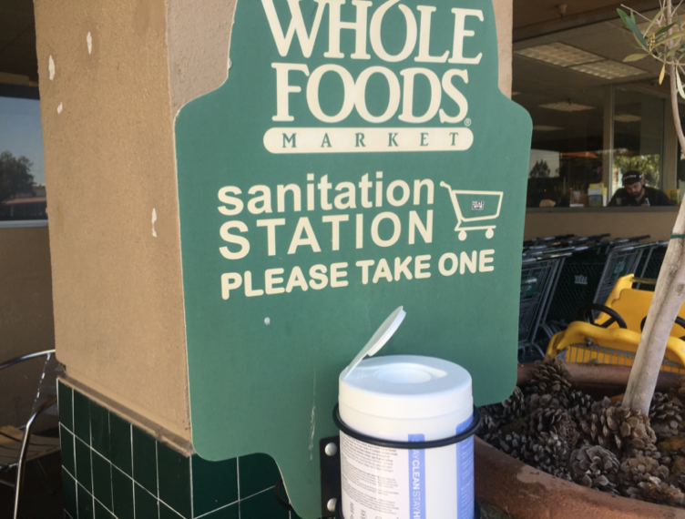 Cart Wipes Whole Foods